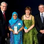 Hale award acceptance